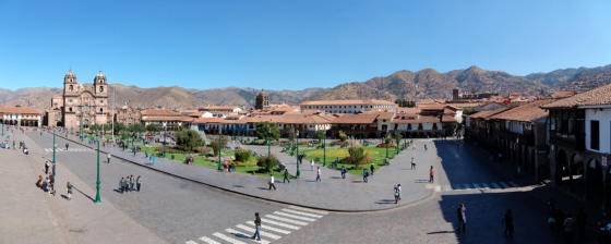 Place d'arme de Cusco